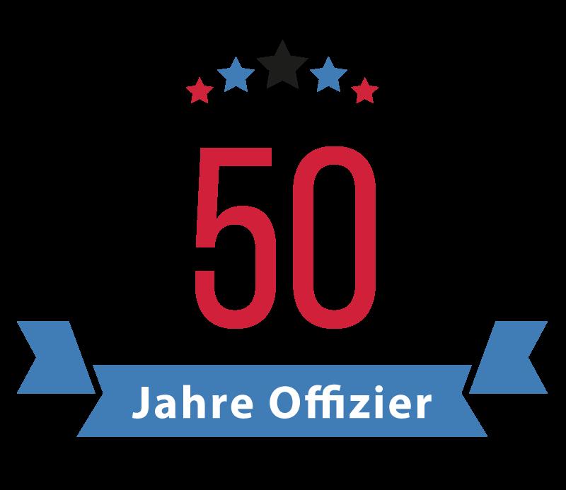50 Jahre Offizier in Brühl